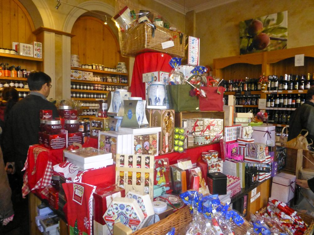 Inside the farm shop at Castle Howard, North Yorkshire, England