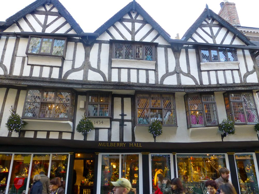 The MulberryTree, one of the oldest shops in York, England