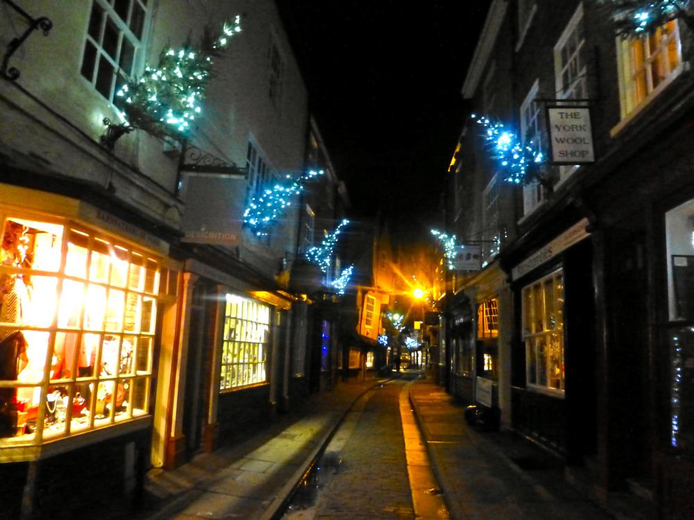 The Shambles, York, England, one of York's most famous streets