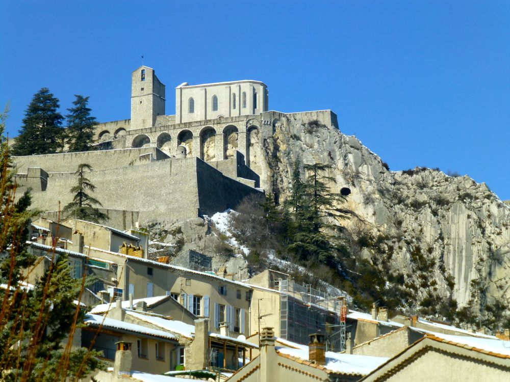Chateaux in Sisteron, Provence, France