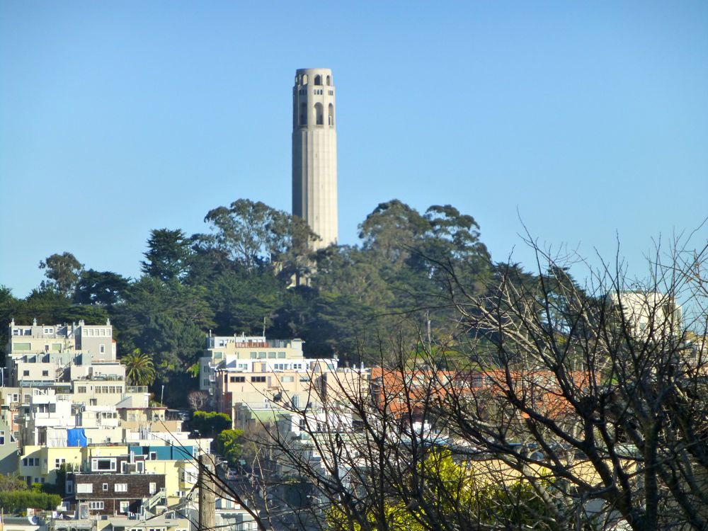 Coit Tower, San Francisco, California, USA