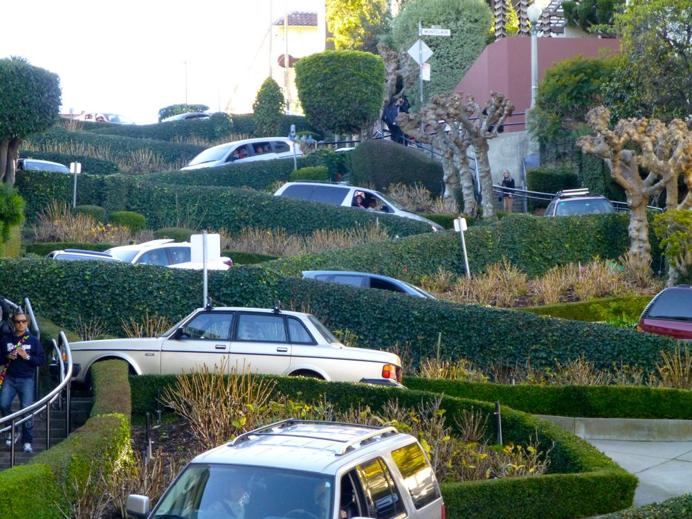 Lombard Street, San Francisco California, USA