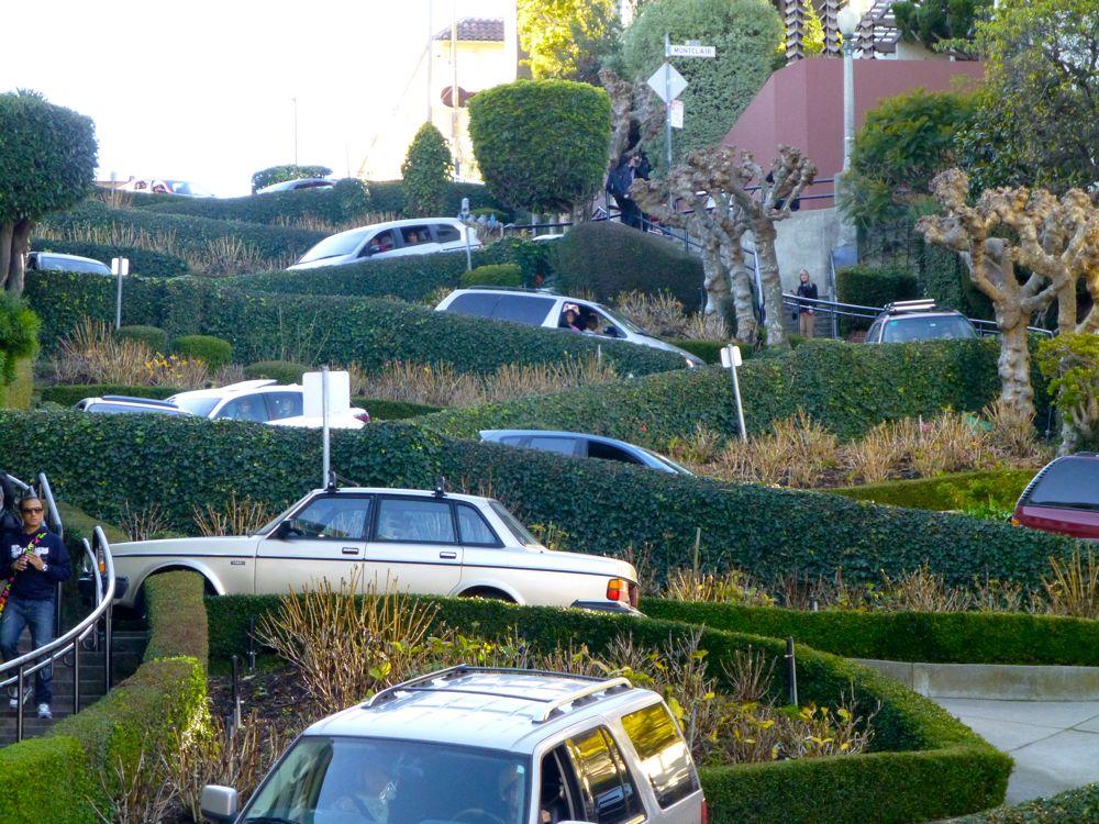 Lombard Street, San Francisco California, USA