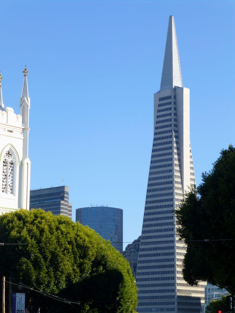 Trans-America Building, San Francisco, California, USA