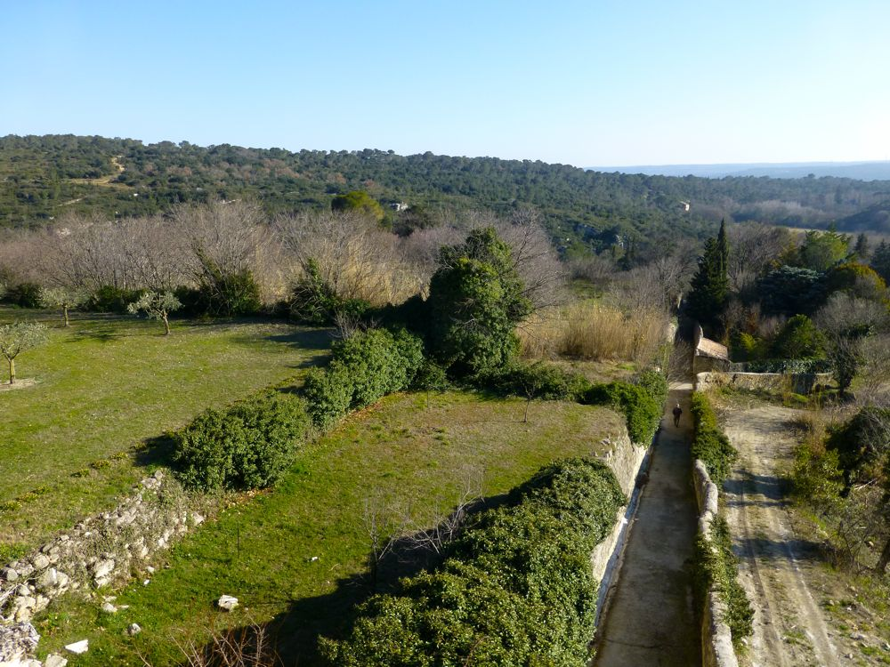 Country walk in Uzes, Languedoc Rousillon, France