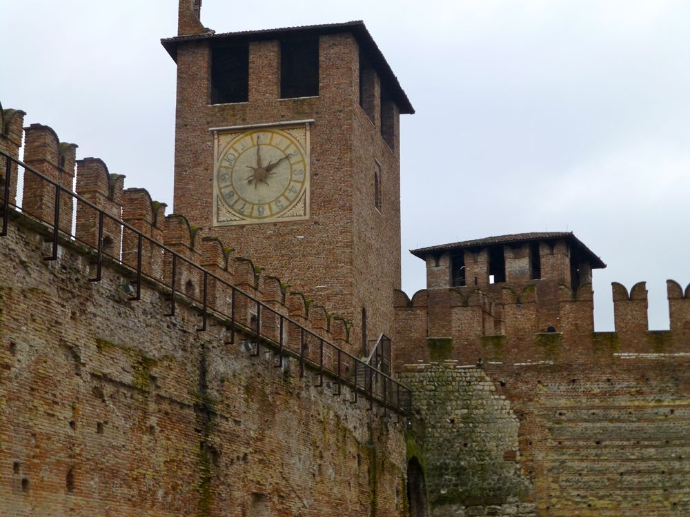 Clock tower of Castelvecchio, Verona