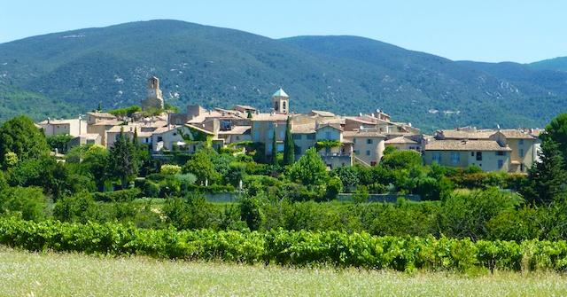 Lourmarin, in The Luberon Provence