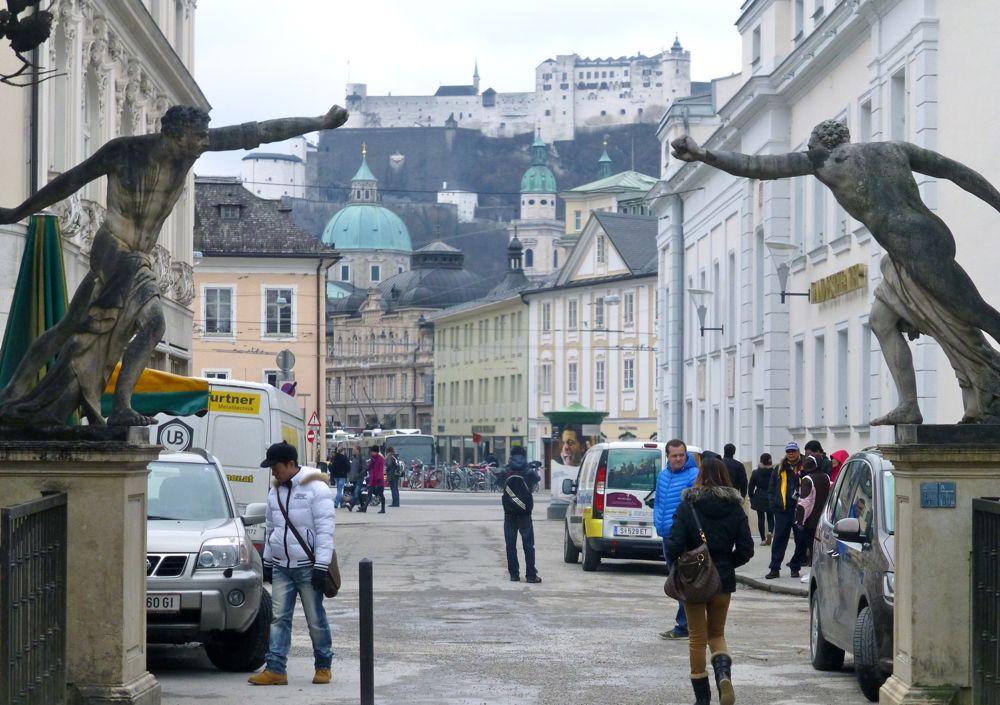 Mirabell Park, Salzburg, filmed in 'Sound of Music'