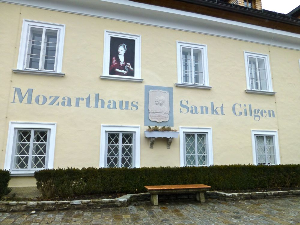 Mozart's mother's birth place