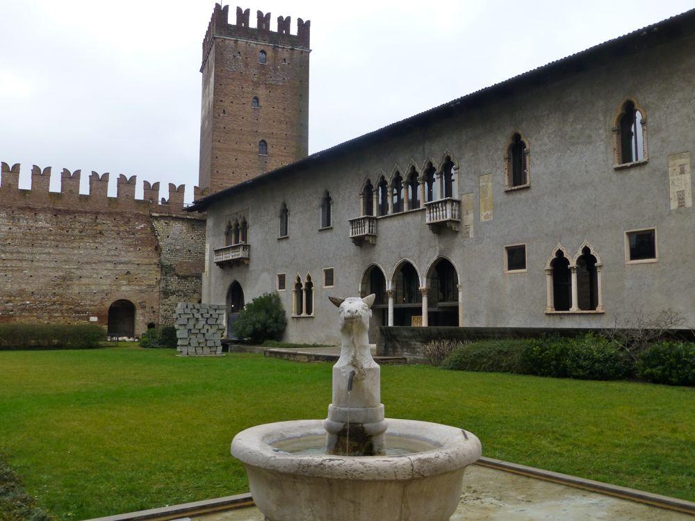 Museum of Castelvecchio, Verona, Italy