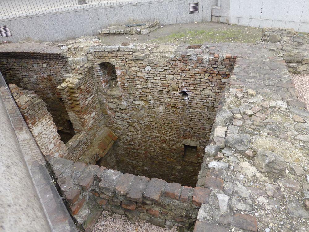 Roman ruins in Vienna