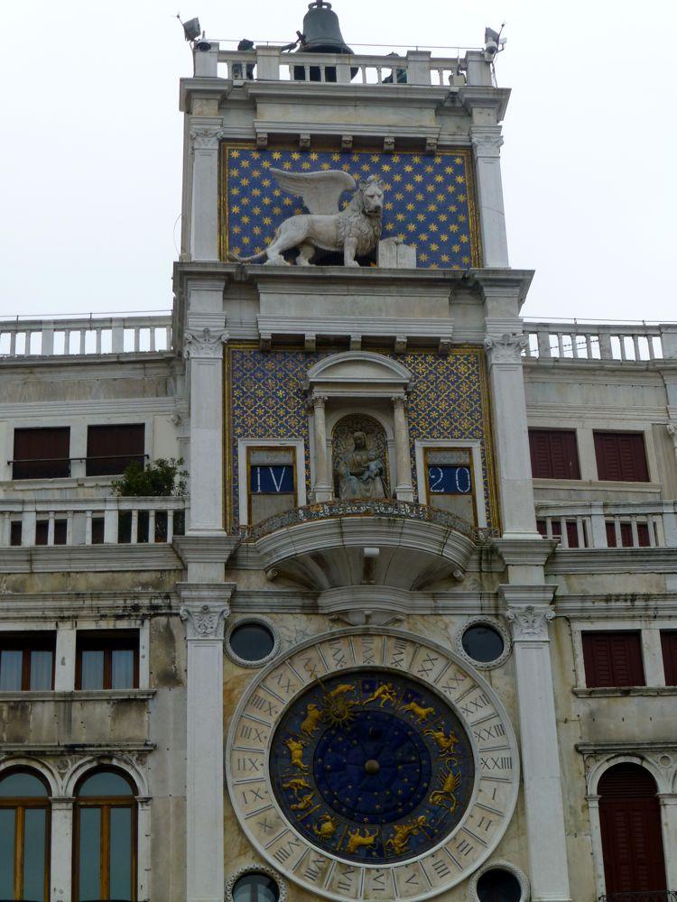 Torre dell'Orologio in Piazza San Marco, Venice