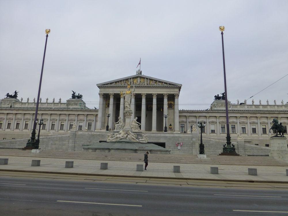 Vienna's parliament