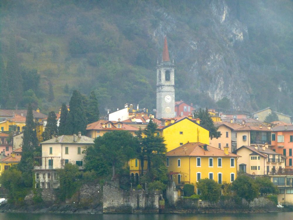 Bellagio, Lake Como in rain