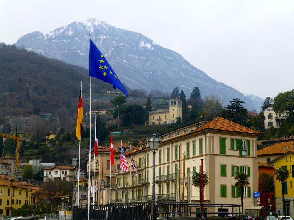 In Menaggio Lake Como, Italy