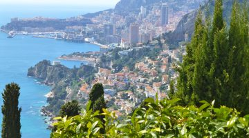 Monaco View, Cote d'Azur, France