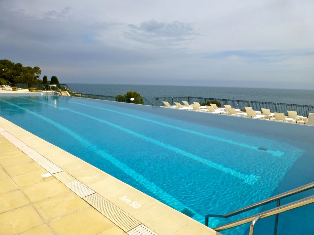 Pool at Hotel Cap Ferrat, Saint Jean Cap Ferrat, Cote d'Azur, France