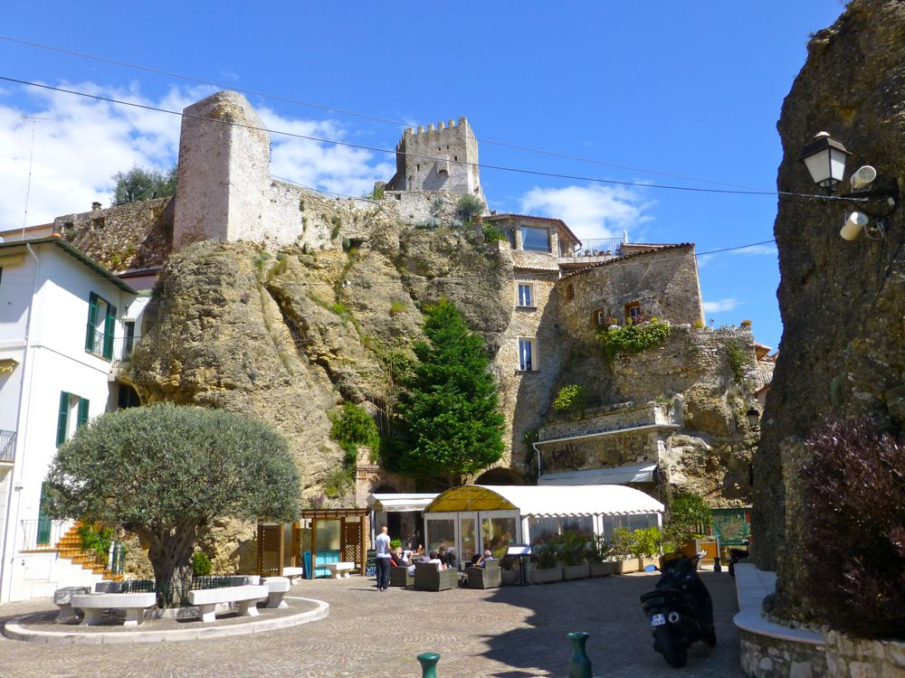 The Square in Roquebrune-Cap-Martin, Cote d'Azur, France