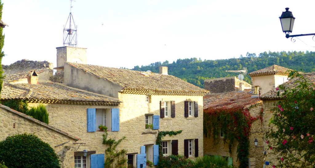Ansouis, one of the most beautiful villages of France in Luberon, Provence
