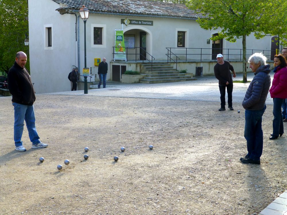 Boules in Lourmarin, Luberon Provence, France