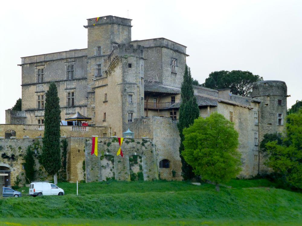 Chateau de Lourmarin, Luberon, Provence, France