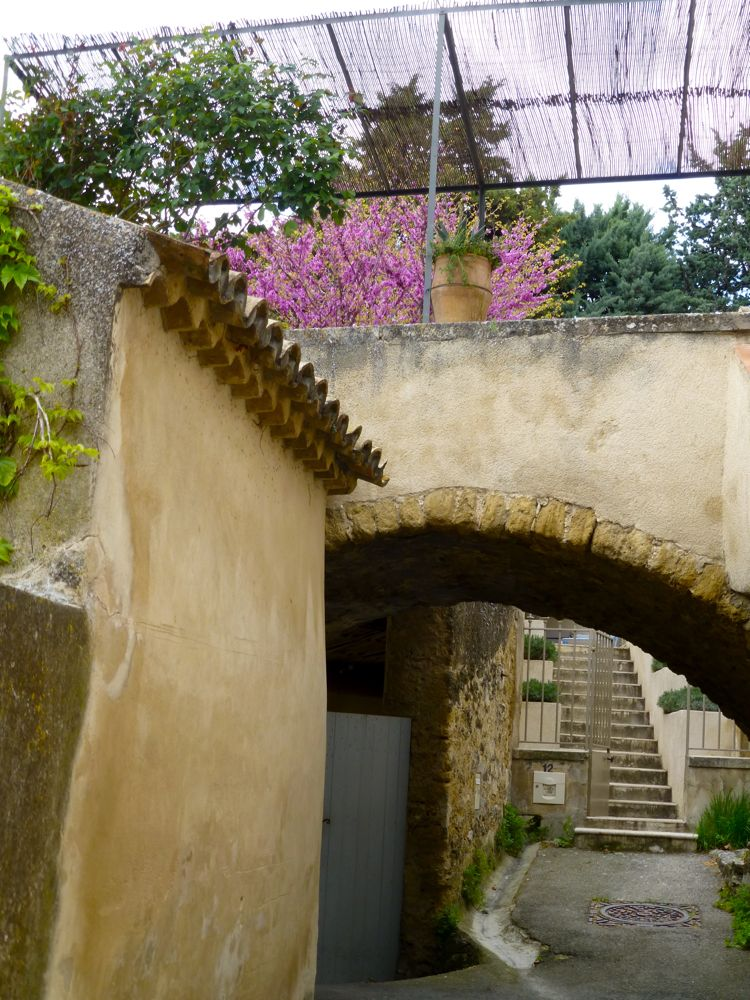 Entryway Petit Rue du Grand Pre, Lourmarin, Luberon, Provence, France