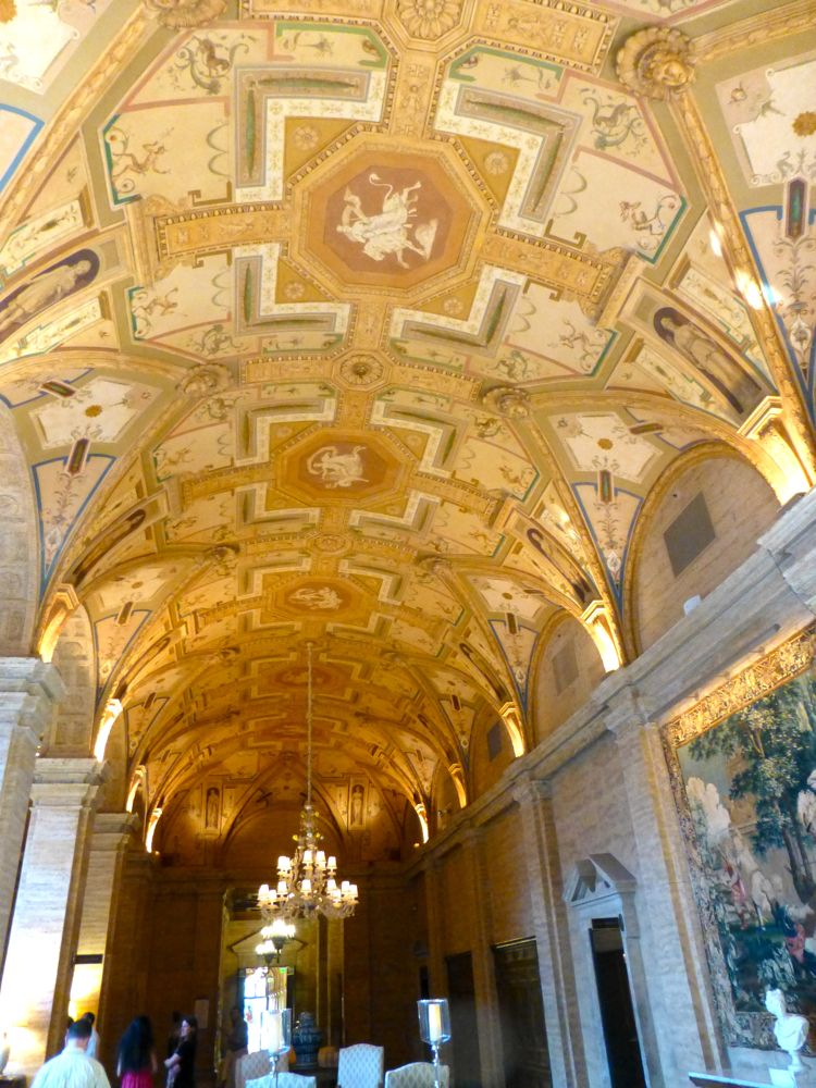 Italian decorated Lobby ceiling The Breakers, West Palm Beach, Florida, USA