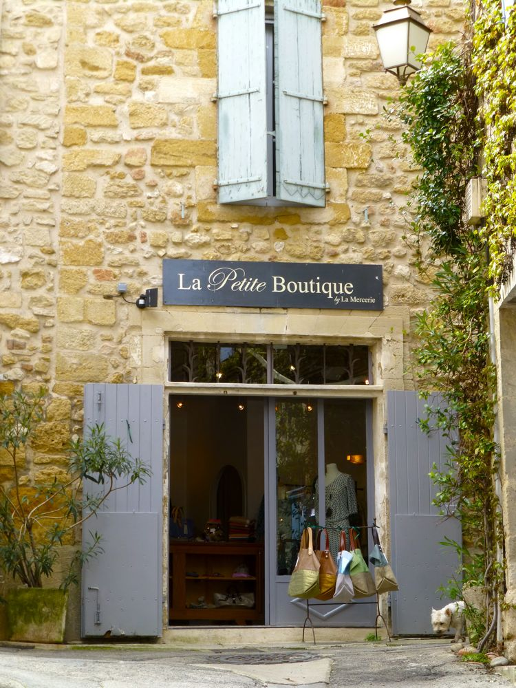 Shops of Lourmarin, Luberon, Provence, France