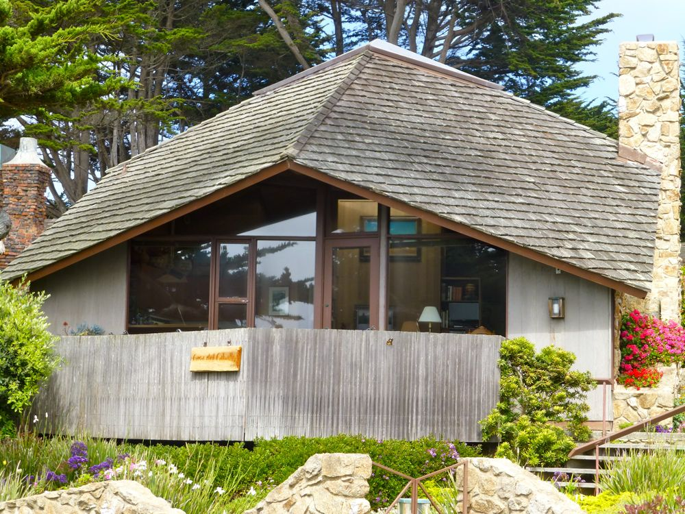 1970's home in Carmel on Scenic Drive, Carmel, California, USA