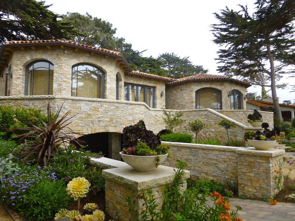 Carmel property on Scenic Drive, Carmel, California, USA