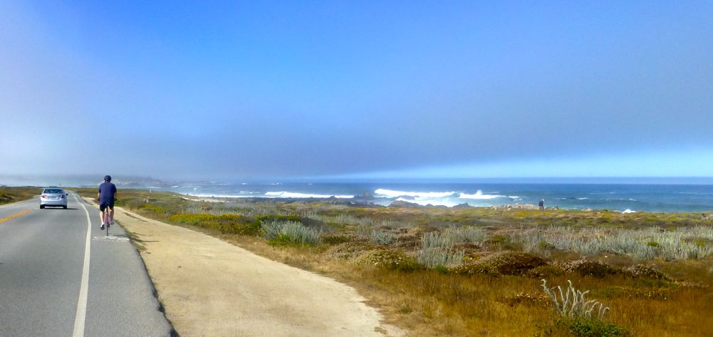 Cycling 17 Mile Drive Carmel, California