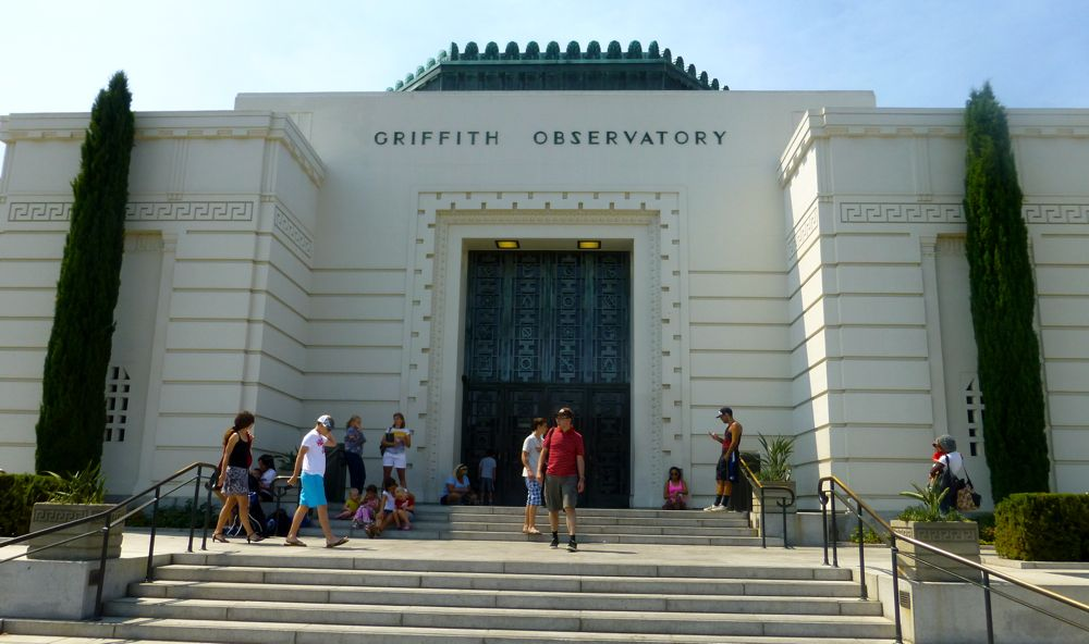 Entry to Griffith Observatory, LA