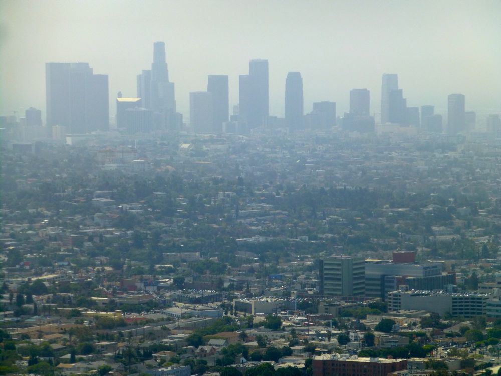 View of LA from Griffith Observatory