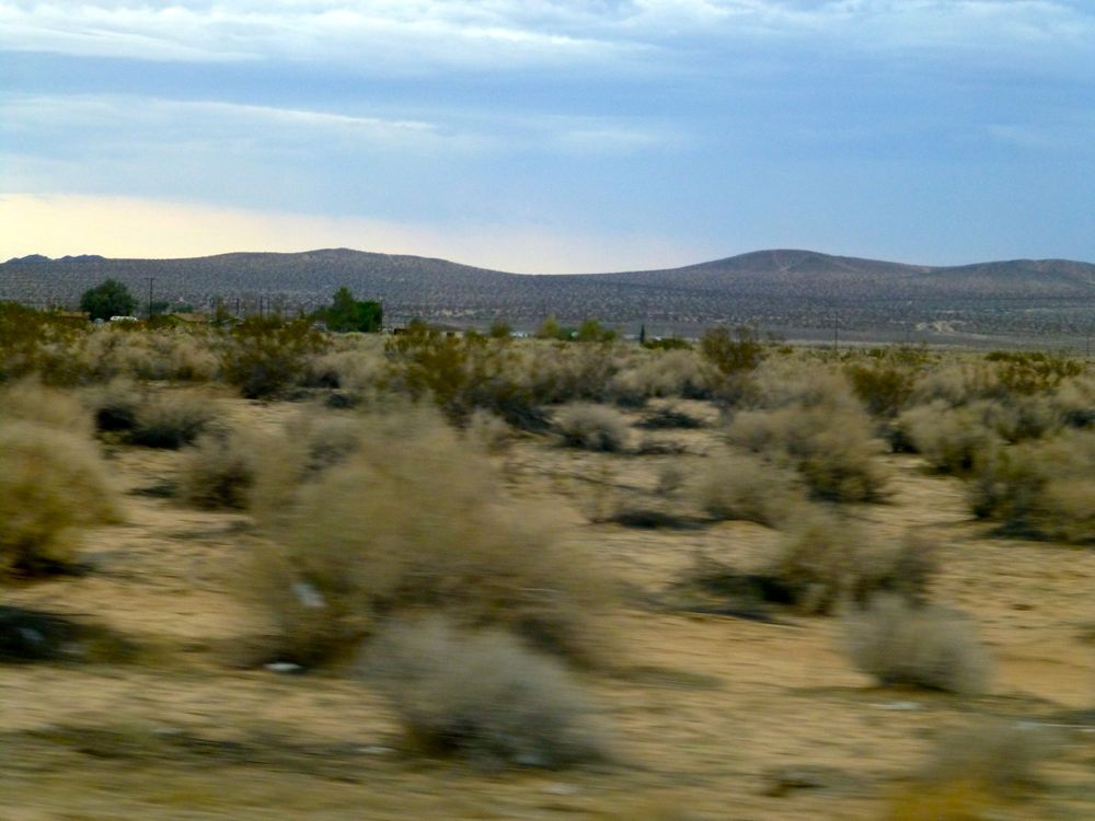 Desert near Hinkley CA
