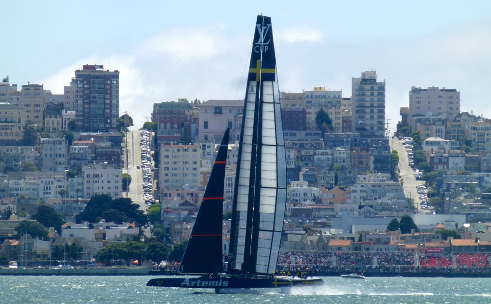 Swedish Artemis @ America's Cup San Francisco 2013
