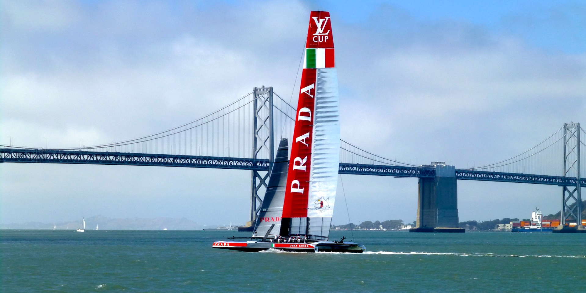 34th America's Cup, San Francisco 2013 - Shutters & Sunflowers