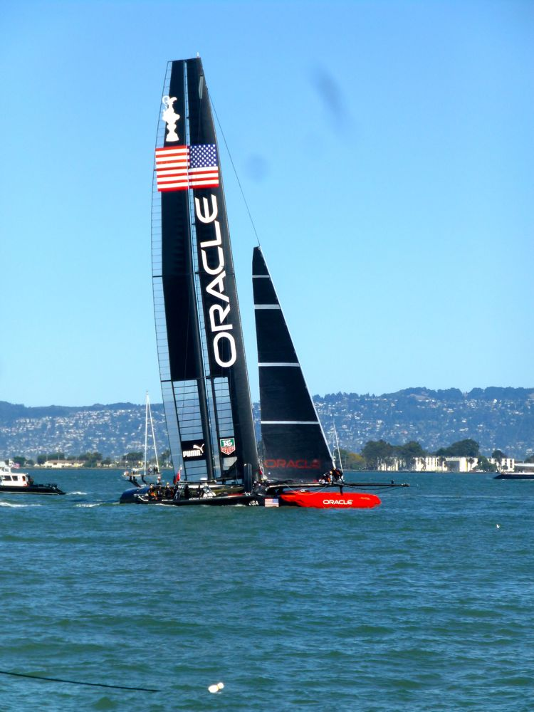 Team USA Oracle, at America's Cup