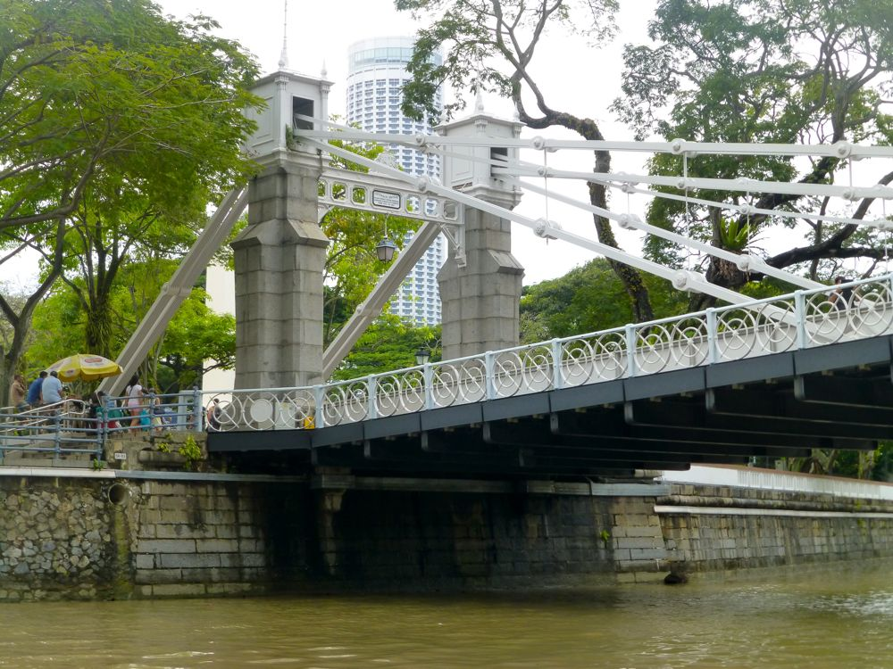 Colonial Bridge over the Singapore River