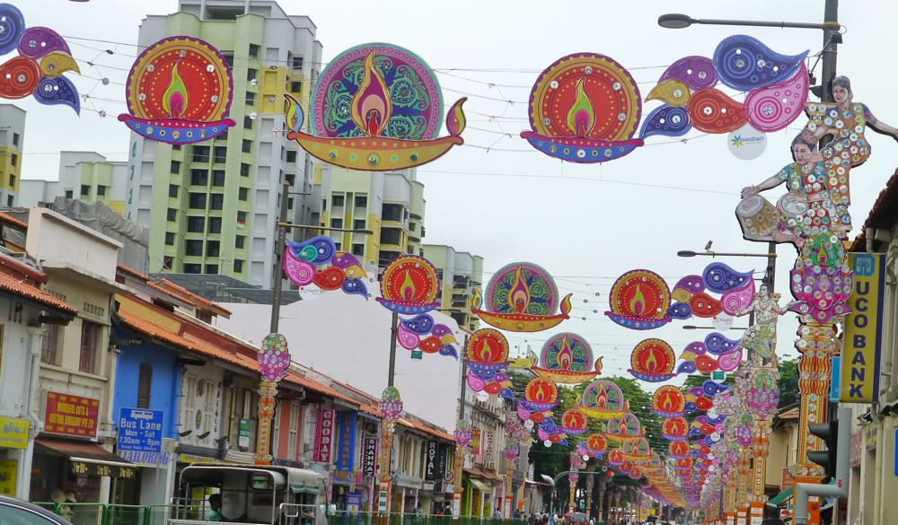 Little India, Singapore at Diwali Festival