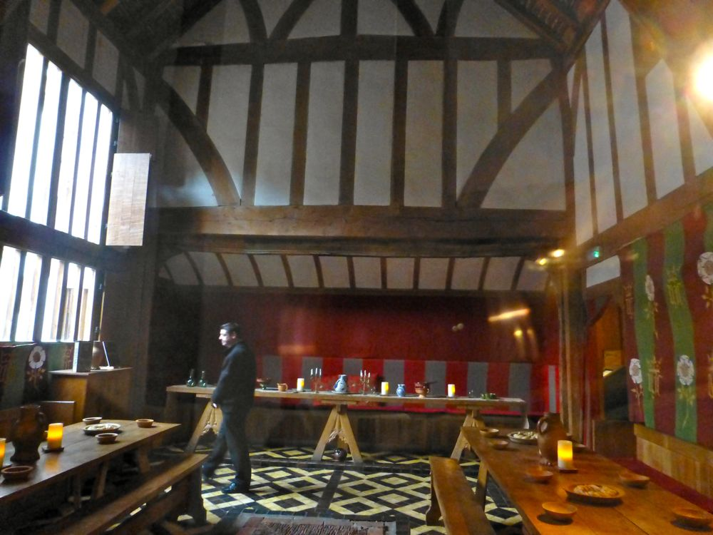 Inside The Barley Hall. York, England