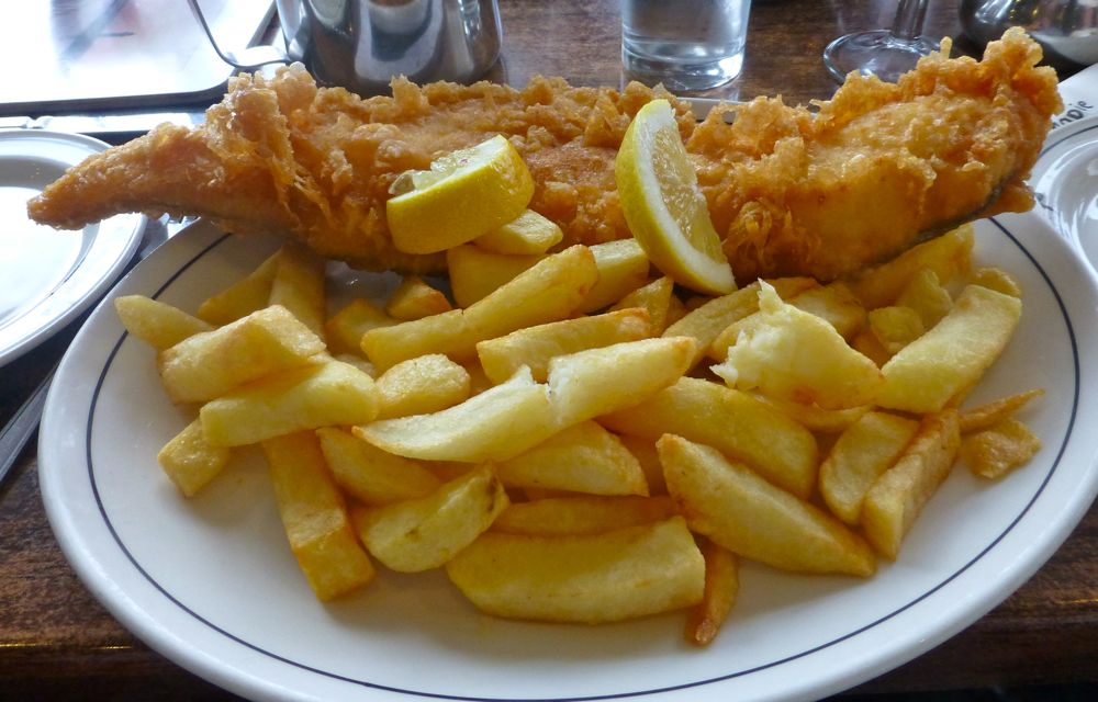 Magpie cafe, fish and chips, Whitby, North Yorkshire, UK