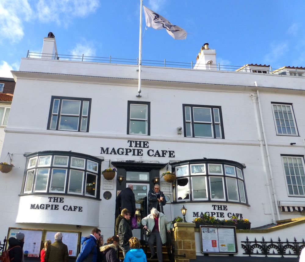 Magpie cafe, Whitby, North Yorkshire, UK