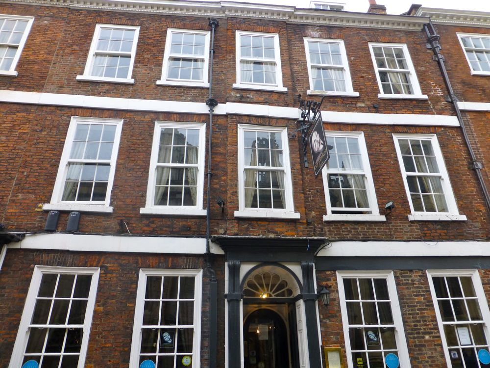 Property where Guy Fawkes was born,1570,York, England