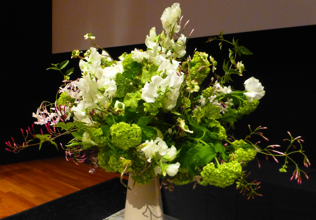 Bouquets to Art, David Stark floral arrangement
