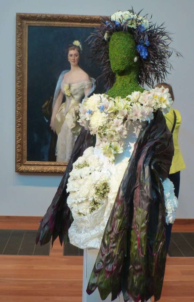 Bouquets of Art, portrait