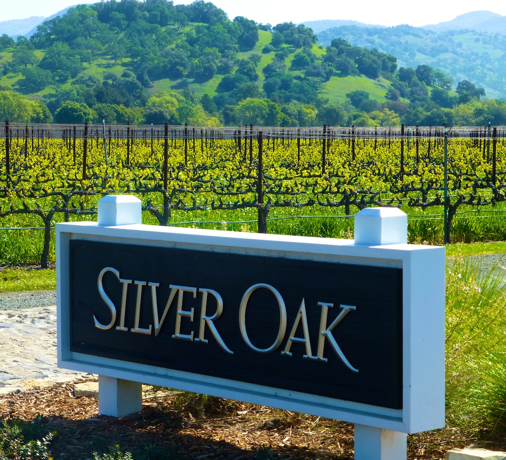At Silver Oak, Napa Valley California