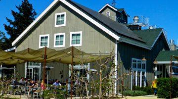 By the Farmstead restaurant, Napa Valley, St Helena, California USA