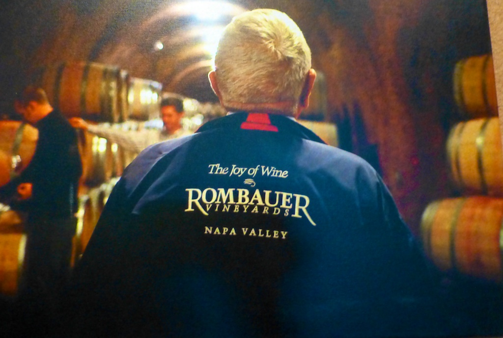 Joy of wine Rombauer, winery, Napa Valley