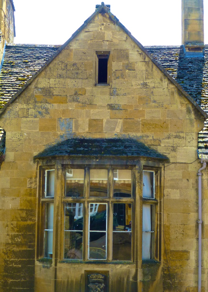 Cotswold stone architecture in Chipping Campden, the Cotswolds, England