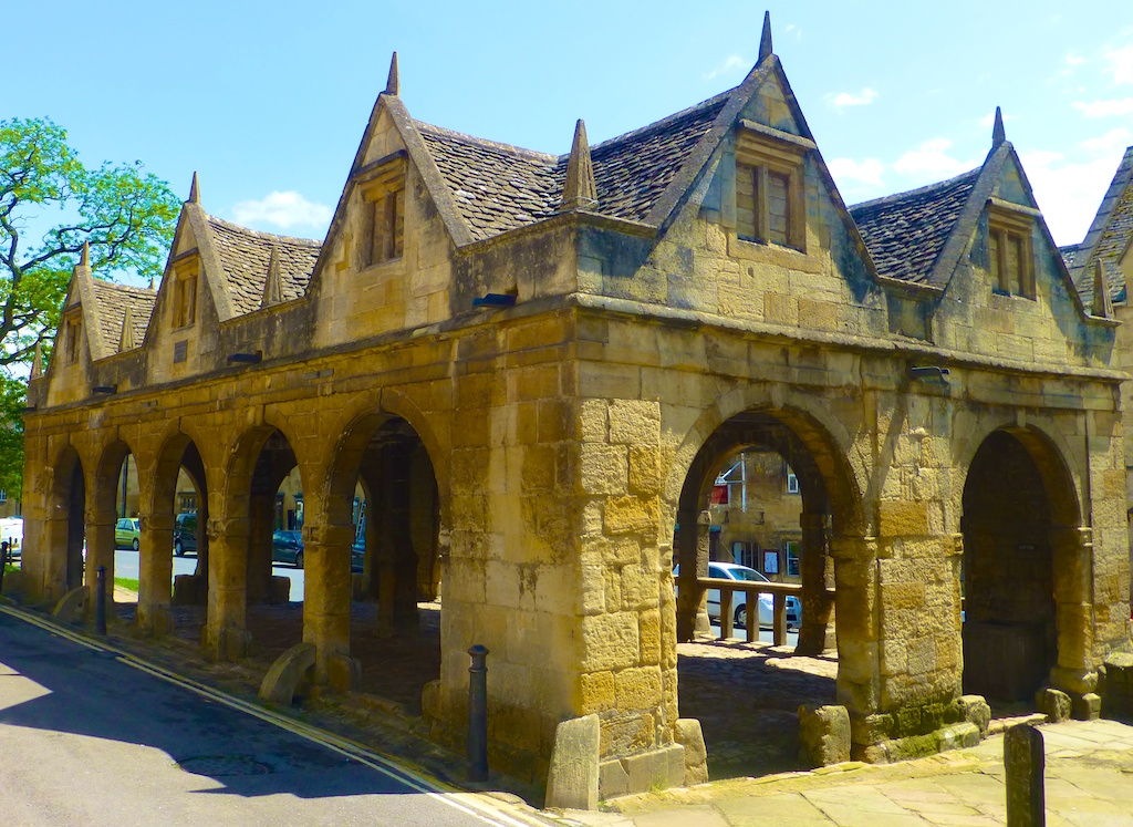English Market in Chipping Campden, the Cotswolds, England